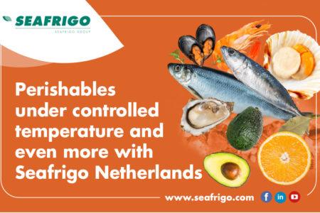 Transport de produits périssables avec Seafrigo Pays-Bas !