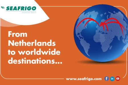 Des Pays-Bas aux destinations du monde entier avec Seafrigo Pays-Bas !