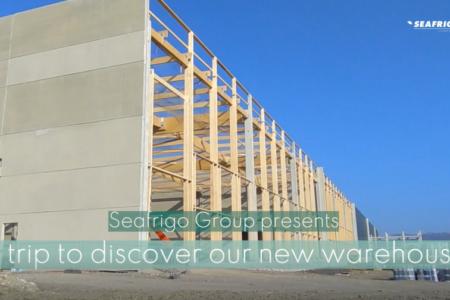 Vidéo de la construction des nouveaux entrepôts Seafrigo au Havre